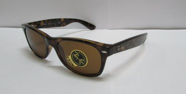 Ray-Ban Sunglasses 2132 710 Wayfarer Brown Light Havana 52mm 100% New & Original
