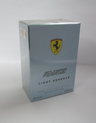FERRARI Scuderia Light Essence EDT 75ml 2.5oz Eau de Toilette NEW 100% Original