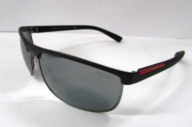 Prada Sport Sunglasses 54QS DG07W1 Black Gunmetal 100% New & Original