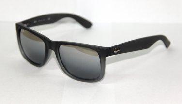 Ray Ban Sunglasses 4165 Justin 852/88 Grey Mirrored Lenses New 100% Original