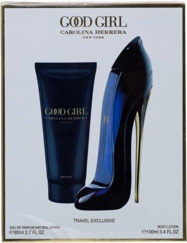 Carolina Herrera Good Girl SET 80ml Spray +100ml Body Lotion 100%Original Sealed