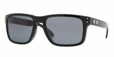 Oakley Sunglasses Holbrook OO 9102 02 Polished Black Polarised 100% NEW Original