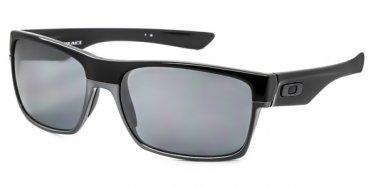 Oakley Sunglasses TwoFace OO 9189 01 Polished Black Iridium Polarized 100% NEW