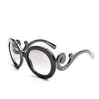 Prada Sunglasses PR27NS 1AB3M1 Baroque Black/ Graduated grey 100% New Original