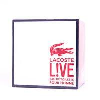Lacoste Live Men Homens EDT 100ml 3.4oz 100% Original NEW In Box Perfume
