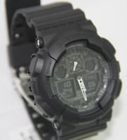 Casio Watch G Shock GA100 1A1DR Magnetic & Shock Resistant New 100% Original Case