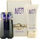 Thierry Mugler ALIEN SET Alien Perfume EDP 60ml + Body Milk 100ml 100%Original and Sealed