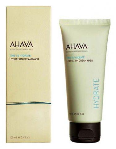 Ahava Time To Hydrate Hydration Cream Mask, 3.4 Oz. 100ml