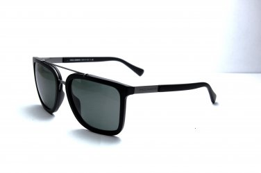 Dolce & Gabbana 4219 Plaque Square Sunglasses, (matte Black/grey Green) Fashion Sunglasses - UNISEX