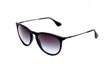 Ray-ban Women's Erika 4171 622/8G Round Sunglasses Smoky Grey Gradient 54m