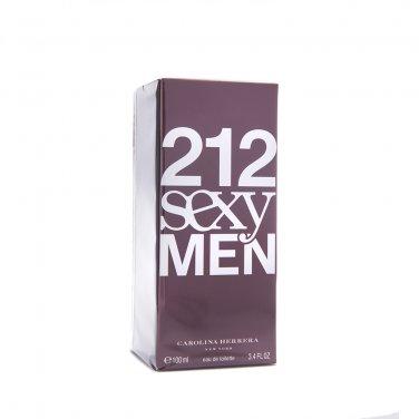 Carolina Herrera 212 SEXY MEN EDT 100ml 3.4oz Eau de Toilette NEW SEALED BOX & 100% ORIGINAL
