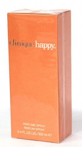 Clinique HAPPY EDP 100ml 3.4oz Eau de Parfum Women NEW SEALED BOX & 100% ORIGINAL