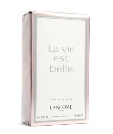 Lancome LA VIE EST BELLE EDT 100ml 3.4oz Eau de Toilette NEW BOX & 100% ORIGINAL