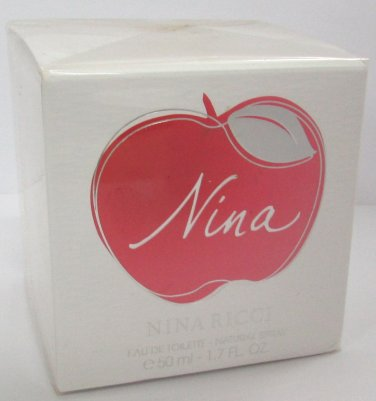 Nina Ricci NINA Edt 50ml 1.7oz Eau de Toilette Perfume 100% ORIGINAL NEW In Box