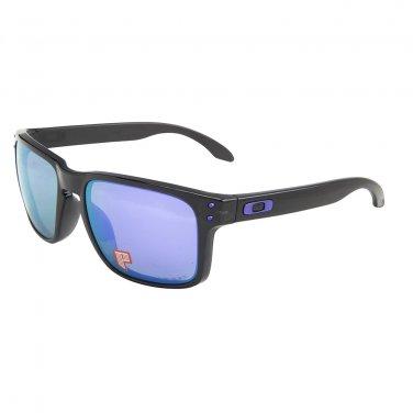 Oakley Sunglasses HOLBROOK 9102-67 Black Ink Violet Iridium POLARIZED OO9102-67
