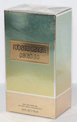 Roberto Cavalli PARADISO EDP 75ml 2.5oz Eau de Parfum NEW IN BOX & 100% Original