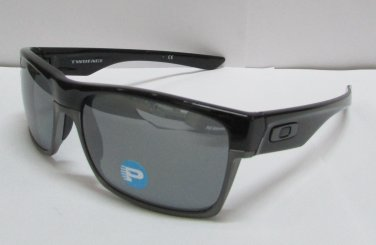 Oakley Sunglasses TwoFace 9189-01 Polished Black Iridium POLARIZED OO9189-01 NEW 100% ORIGINAL