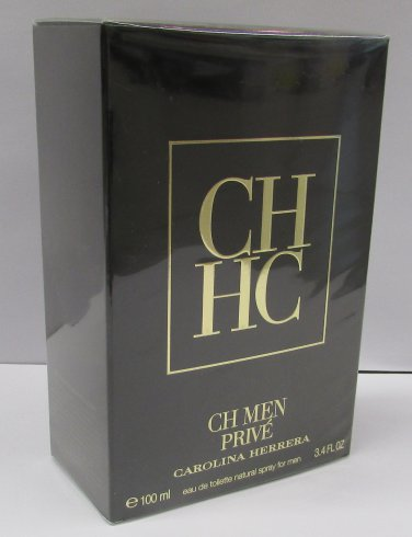 Carolina Herrera CH MEN PRIVE EDT 100ml 3.4oz Eau de Toilette NEW & 100% ORIGINAL