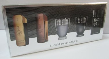 Paco Rabanne 5 Miniature SET SPECIAL TRAVEL EDITION NEW & 100% ORIGINAL