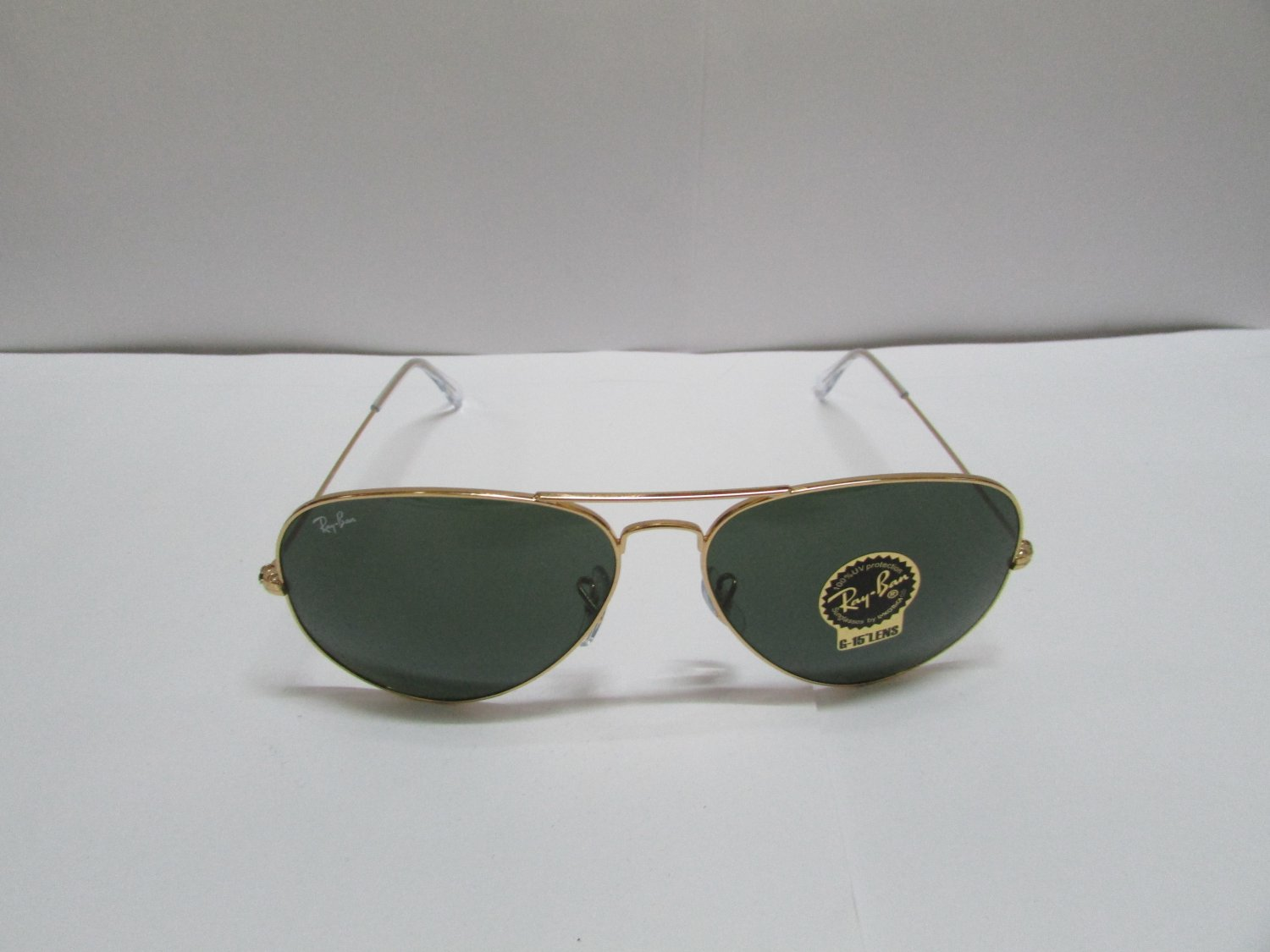 eb3ecbc81 RAY BAN SUNGLASSES AVIATOR CLASSIC 3025 L0205 58-14 Gold 100% ORIGINAL  BRAND NEW
