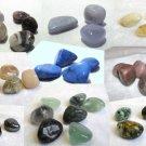 Small CRYSTAL TUMBLESTONE Healing Meditation Tumbled Stone Gemstone