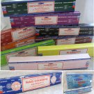 Satya Nagchampa 15g Box Traditional Indian INCENSE STICKS Fragrance Choice