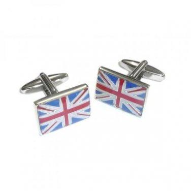 Gents Cufflinks Union Jack UK Flag Cufflinks