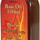 100ml Bottle NEEM Base Oil Carrier Oil Aromatherapy Massage