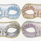 FANCY DRESS VENETIAN MASK Pastel Filigree Eye Mask Masquerade Ball Hen Party