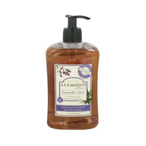A la maison liquid soap for hand and body lavender aloe for A la maison liquid soap