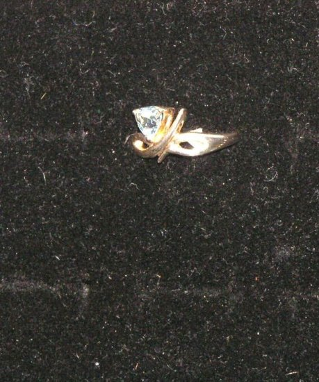 Mystic Topaz ring