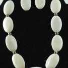 Item No.01088   Howlite set in Sterling Setting