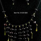 Item No. 01233 Wood Tribal Necklace