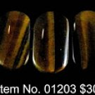 Item No. 01203 Tiger Eye Bracelet in Non-Metal Setting
