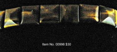 Item No. 00998 Tiger Eye Bracelet in Non-Metal Setting