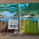 "Yamamoto 3.5"" Tube Lure 6 Per Pack x 2 Different Colors....33-06-38 and 33-06-25"