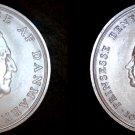 1968 Denmark 10 Kroner World Silver Coin