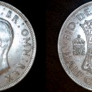 1942 Great Britain Half Crown World Silver Coin - UK