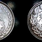 1934-B Swiss Half Franc World Silver Coin - Switzerland