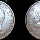 1942 Canadian Quarter 25 Cents Canada Silver Coin