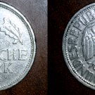 1950 D German 1 Mark World Coin -  Germany