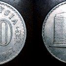 1967 Malaysian 20 Sen World Coin - Malaysia