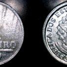 1959 Brazilian 1 Cruziero World Coin - Brazil