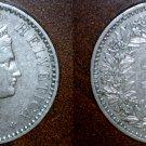 1884 Swiss 20 Rappen World Coin - Switzerland