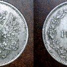 1913-S Finland 25 Pennia World Silver Coin Russian Admin