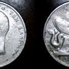 1911 (a) Greek 1 Drachma World Silver Coin - Greece