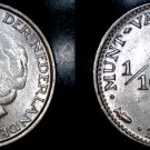 1948 Curacao One Tenth Gulden Silver World Coin