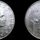 1977 Italian 50 Lire World Coin - Italy