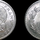 1949 (a) French 5 Franc World Coin - France