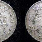 1922 Belgium 25 Centimes World Coin